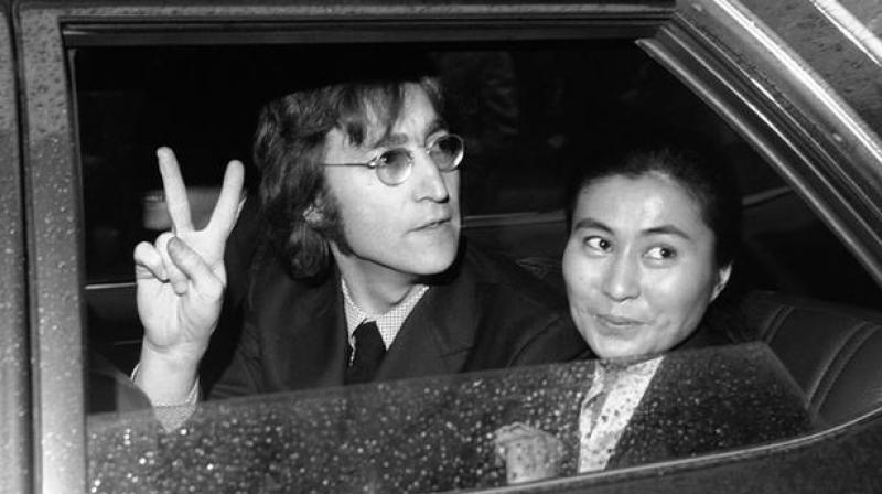 John Lenon and Yoko Ono (Photo: AP)