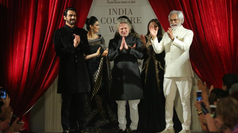 Image result for Rohit Bal with actors