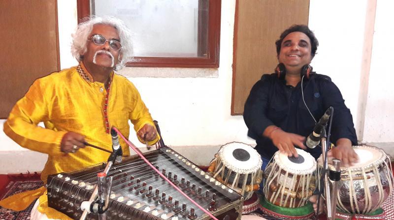 Santoor Maestro Pdt Tarun Bhattacharya and Pdt Prodyut Mukherjee
