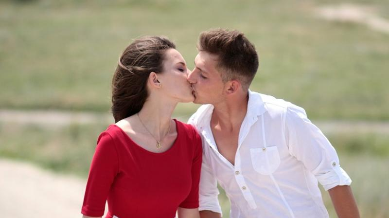 Kissing helps people measure potential partners and once one is in a relationship