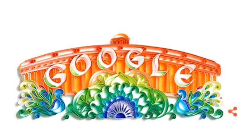 The doodle has been created by Mumbai-based artist Sabeena Karnik (Photo: Google)