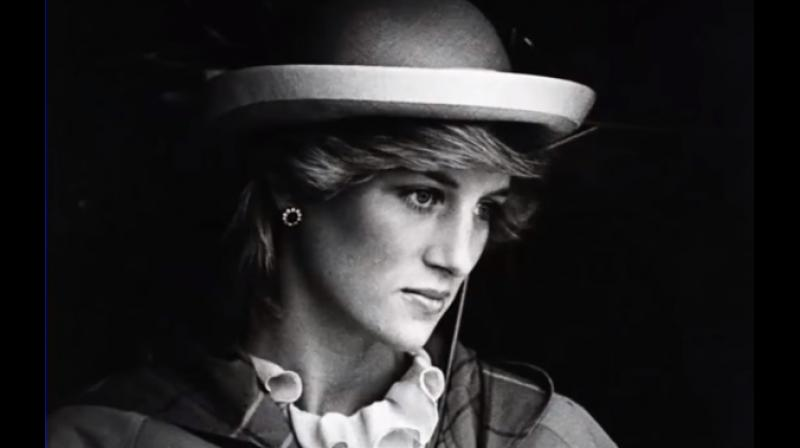According to Gibbins, Princess Diana just wanted to have a lovely summer at somebody else's expense (Photo: Youtube)