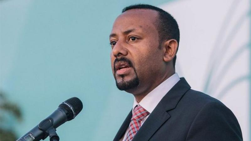 """Born in the western town of Beshasha to a Muslim father and Christian mother, Abiy """"grew up sleeping on the floor"""" in a house that lacked electricity and running water. (Photo: Twitter)"""