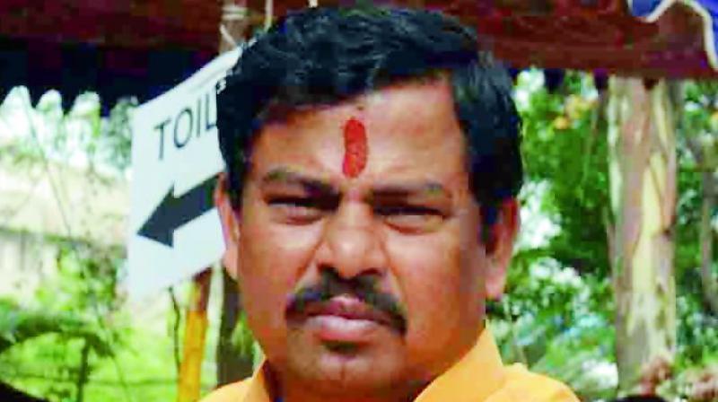 BJP leader T Raja Singh on Sunday accused the AIMIM leader Asaduddin Owaisi. (Photo: File)