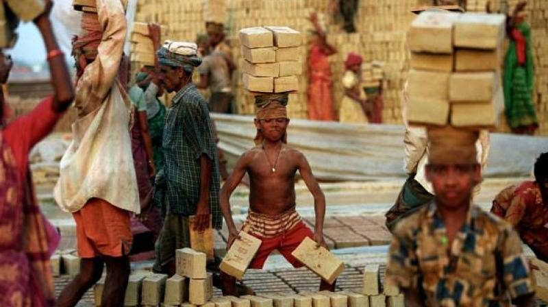 As many as 200 kids working in the brick kilns in Choutuppal were rescued by Rachakonda Police on Tuesday. (Representational image)