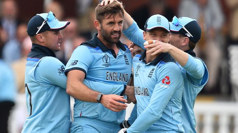 At the 25-over halfway point of their innings, New Zealand were 109 for two in a match where both sides were looking to win the World Cup for the first time. (Photo: AFP)