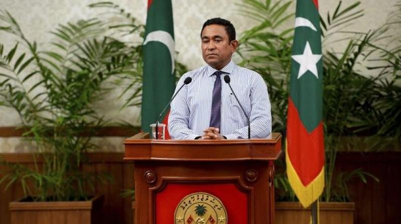 'The President has been compelled to declare a state of emergency due to the risk currently posed to national security,' said a statement from Yameen's office on Monday. (Photo: AP/File)