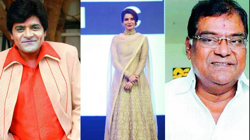 Rumour is many Telugu actors are entering the political arena — keen to contest elections in 2019. Samantha, Manchu Lakshmi, Jeevitha, Ali... are on the list