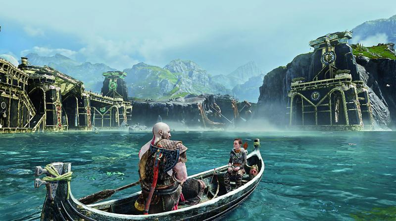 How To Make God of War PS4 Fit Your Full TV Screen