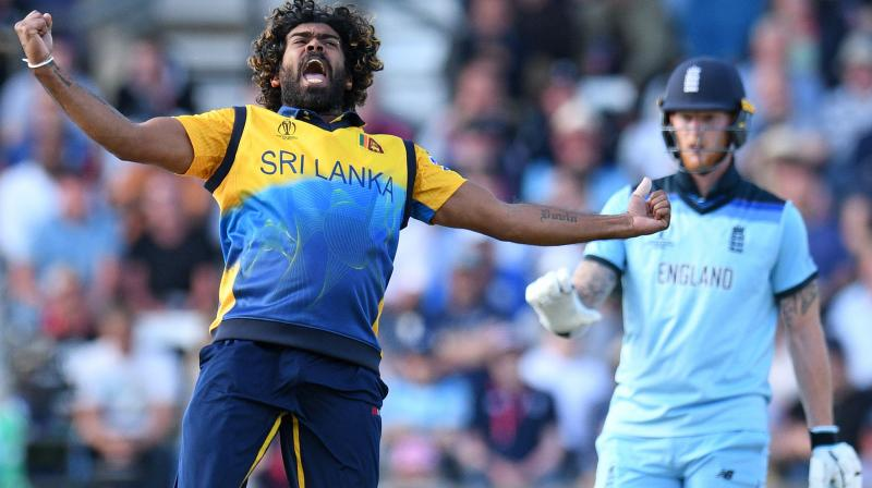 Malinga, who finished with figures of 4-43, became only the fourth bowler to capture 50 or more wickets in the competition after Australia's Glenn McGrath (71), his compatriot Muttiah Muralitharan (68) and Pakistan's Wasim Akram (55). (Photo: AFP)
