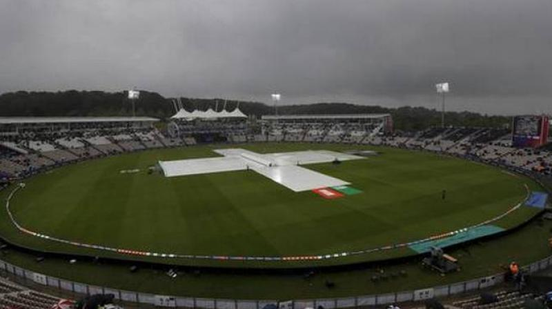 After witnessing a washout against New Zealand, and a mid-way rain in the match against Pakistan, India will hope that the weather remains sunny and clear as another washout might dent their chances of qualifying to the semis. (Photo:AP)