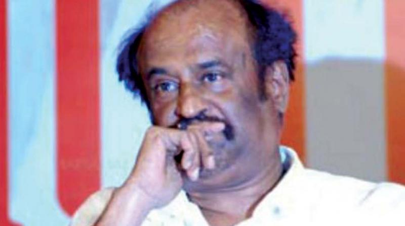 BJP is not behind me: Rajini