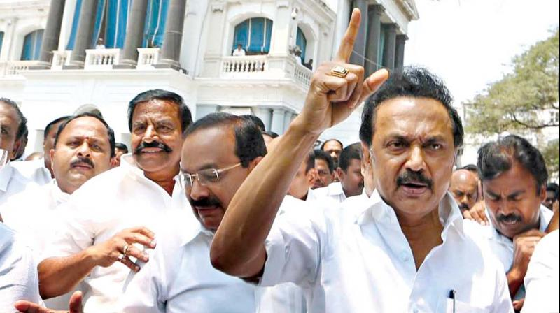 Ram Rath enters Tamilnadu, DMK exits Assembly