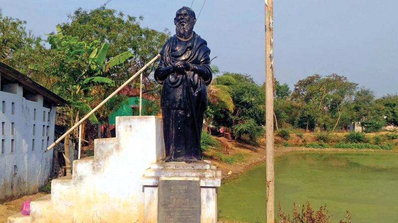 Now, Periyar statue vandalised in Tamil Nadu's Pudukottai district