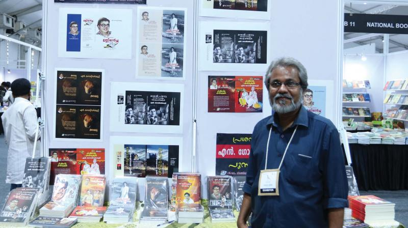 The unique presence of 22 small-time publishers is what makes the Krithi International Book Fair stand apart from other book fairs of global standards.