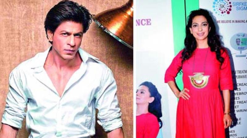 Shah Rukh Khan will make more time for Juhi Chawla