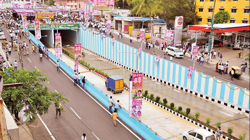 Magadi Road underpass after being inaugurated on Saturday  (Photo:DC)