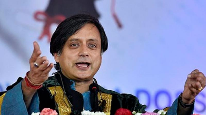 Shashi Tharoor, the Congress leader and Member of Parliament from Kerala. (File photo)