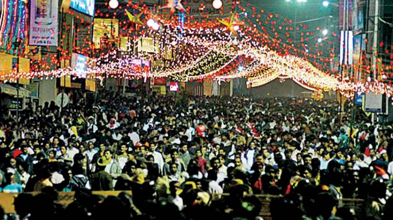 New Year's Eve celebrations on Brigade Road (for representation only)