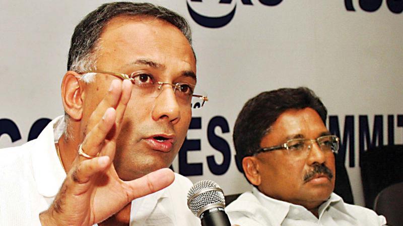 KPCC working president Dinesh Gundurao