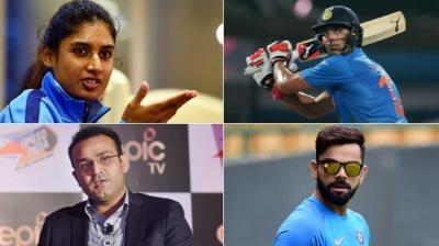 Mithali Raj, Virat Kohli and Yuvraj Singh were a few names who were at the receiving end of trolls in 2017. (Photo: PTI/AFP)