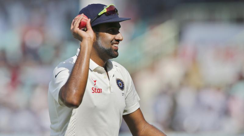 R Ashwin now has 64 wickets in 10 Tests in a home season. (Photo: AP)