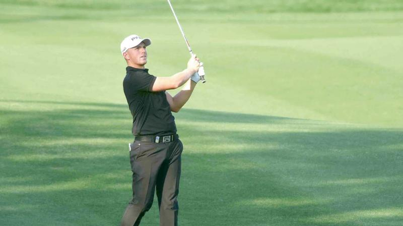 Sharma breaks course record at Indian Open