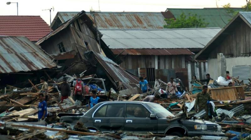 Officials fear the death toll will rise steeply in the coming days and are preparing for the worst. (Photo: AFP)