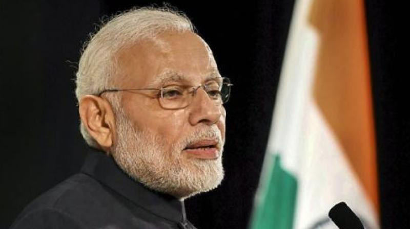 PM Modi, who arrived in Japan on Saturday to attend the 13th India-Japan annual summit and held a series of meetings with top Japanese leaders and addressed the Indian community. (Photo: PTI)