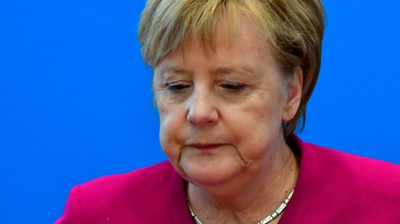 Often hailed as the world's most powerful woman and Europe's de facto leader, a weakened Merkel has faced growing calls to spell out her succession plans after 13 years in power. (Photo: AFP)