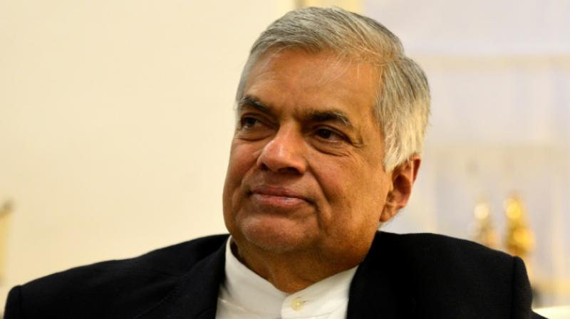 Sri Lankan Speaker Karu Jayasuriya said he wanted a floor test in parliament to resolve the issue of two prime ministers in the country which arose following the sacking of Ranil Wickremesinghe and replacing him with Mahinda Rajapaksa. (Photo: File | AFP)