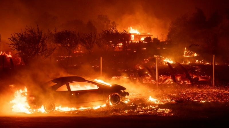 The utility is also under scrutiny for blazes in 2017 that devastated the wine region (Photo: File)
