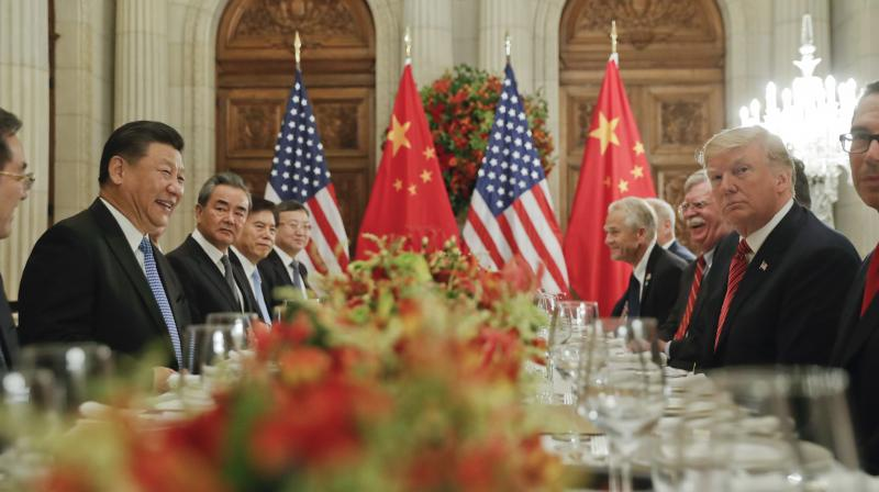 The 10-month-old trade war between the world's two largest economies escalated early this month. (Photo:AP)