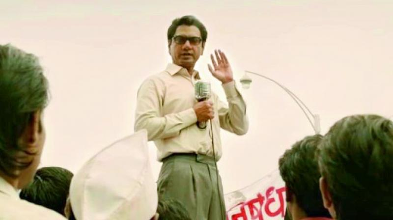 Some of Bal Thackeray's speeches led to violence in Mumbai. However, the trailer shows him as a people's leader who fought for their rights