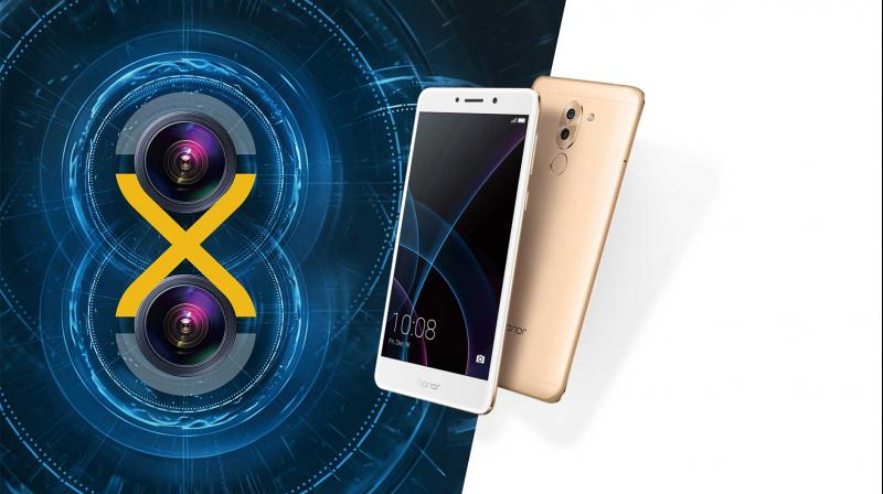 The Honor 6X smartphone was first unveiled in January this year.