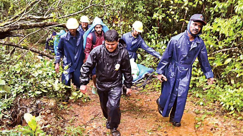 Rescue operations carried out by Chetan and his team.