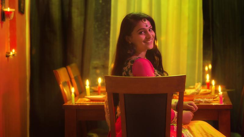 A still from 'Srinivasa Kalyana.'