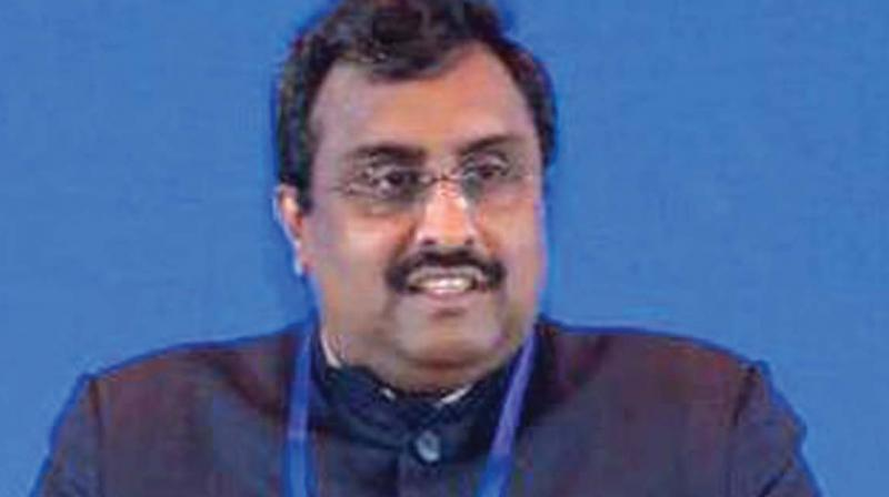 Ram Madhav also said that attempts to convince the people of Kashmir about the efficacy of this decision will soon be made. (Photo: File)