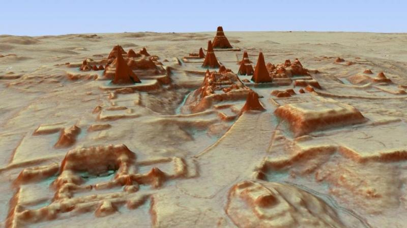 Laser technology reveals undiscovered Mayan ruins below Guatemalan jungle