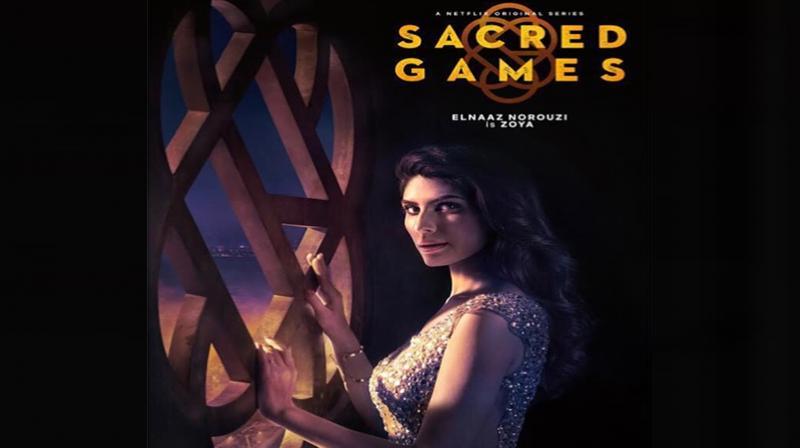 Elnaaz Norouzi in Sacred Games. (Photo: Instagram)