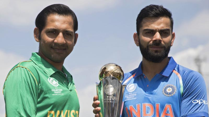 Pakistan beat India in the final by 180 runs to clinch their maiden ICC Champions Trophy title. (Photo: AP)
