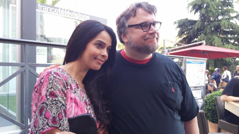 Mallika meets Guillermo del Toro.