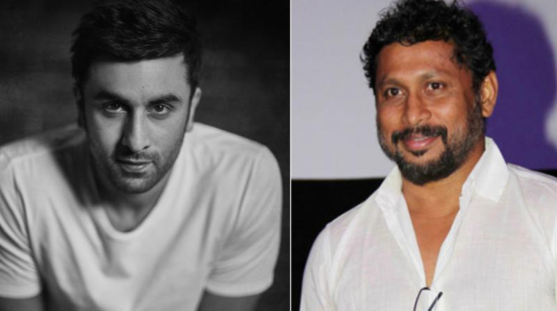 Shoojit Sircar and Ranbir Kapoor.
