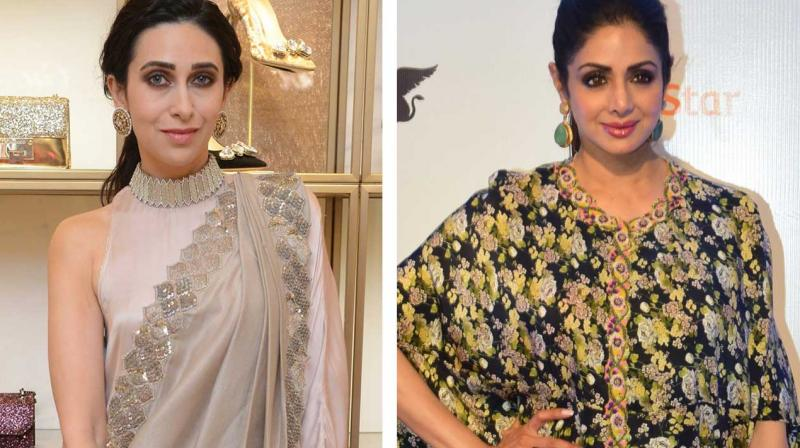 Image result for Karisma Kapoor remembers Sridevi