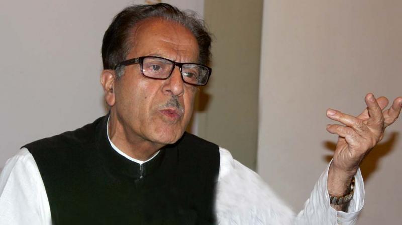 Prof. Saifuddin Soz(Photo: H.U. Naqash)