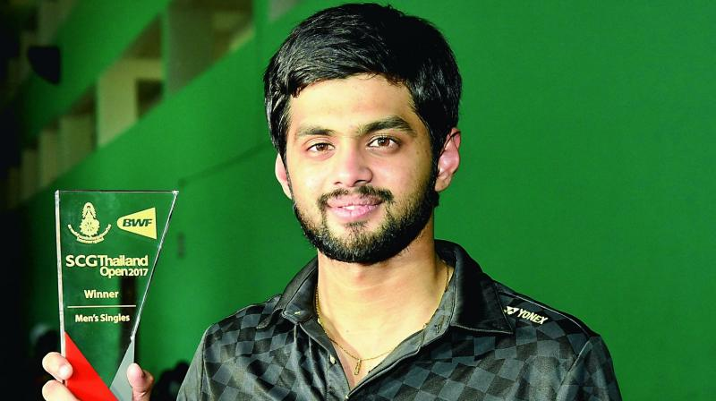 Indian shuttler Sai Praneeth on Tuesday attained his career-best ranking by breaking into the top 10 players in the latest BWF Rankings. (Photo:File)