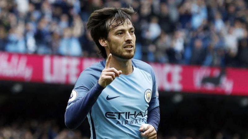 Manchester City manager Pep Guardiola has confirmed that David Silva will be the club's new captain, filling the vacant spot left by Vincent Kompany. (Photo: AP)