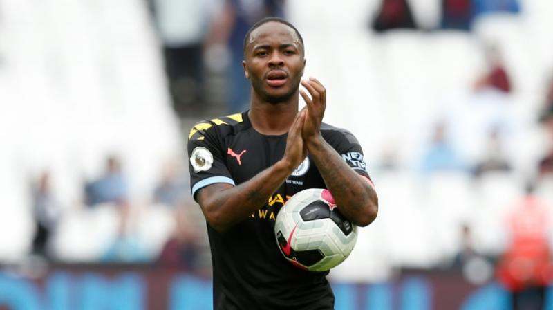 Raheem Sterling scored a hat-trick as champions Manchester City made a convincing start to their title defence with a 5-0 win over West Ham United. (Photo: AFP)