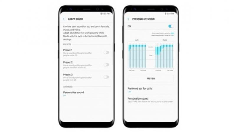 What makes the audio on Samsung Galaxy S8 phenomenal?