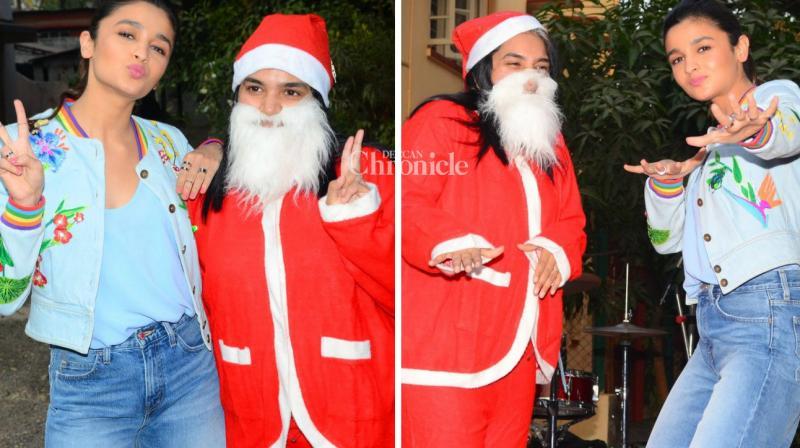Alia Bhatt spent Christmas at an orphange in Mumbai, (Photo: Viral Bhayani)